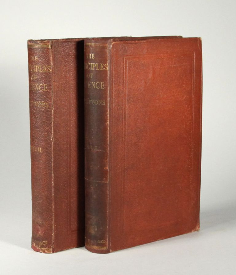 The principles of science: a treatise on logic and scientific method. W. Stanley JEVONS.
