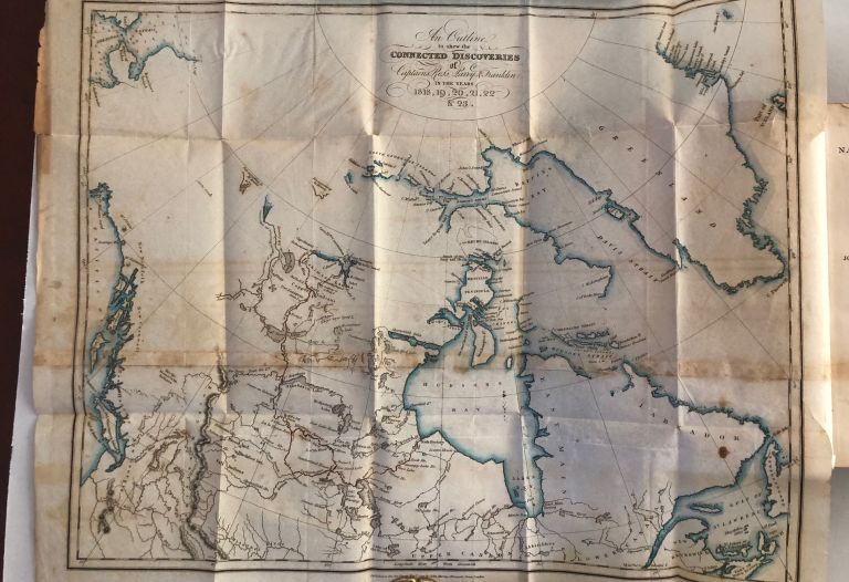Narrative of a journey to the shores of the polar sea. In the years. 1819-20-21-22. John FRANKLIN.