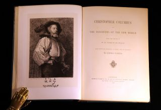 Christopher Columbus and the discovery of the new world. Marquis de BELLOY