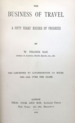 The business of travel. A fifty years' record of progress